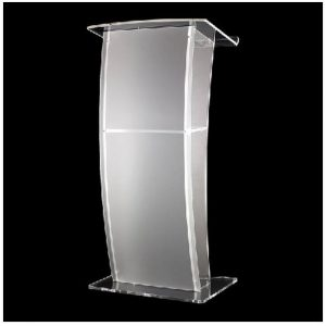 Perspex/Acrylic Lectern