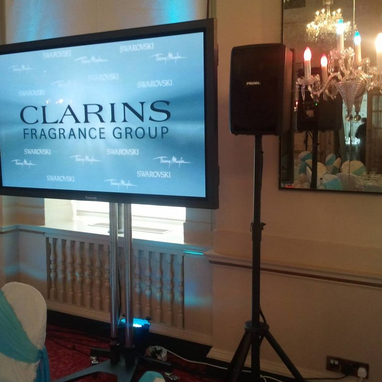 Clarins Event Production - Product Launch