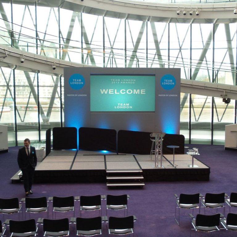 Mayor Of London - Team London Event Production for Awards Ceremony Presentation