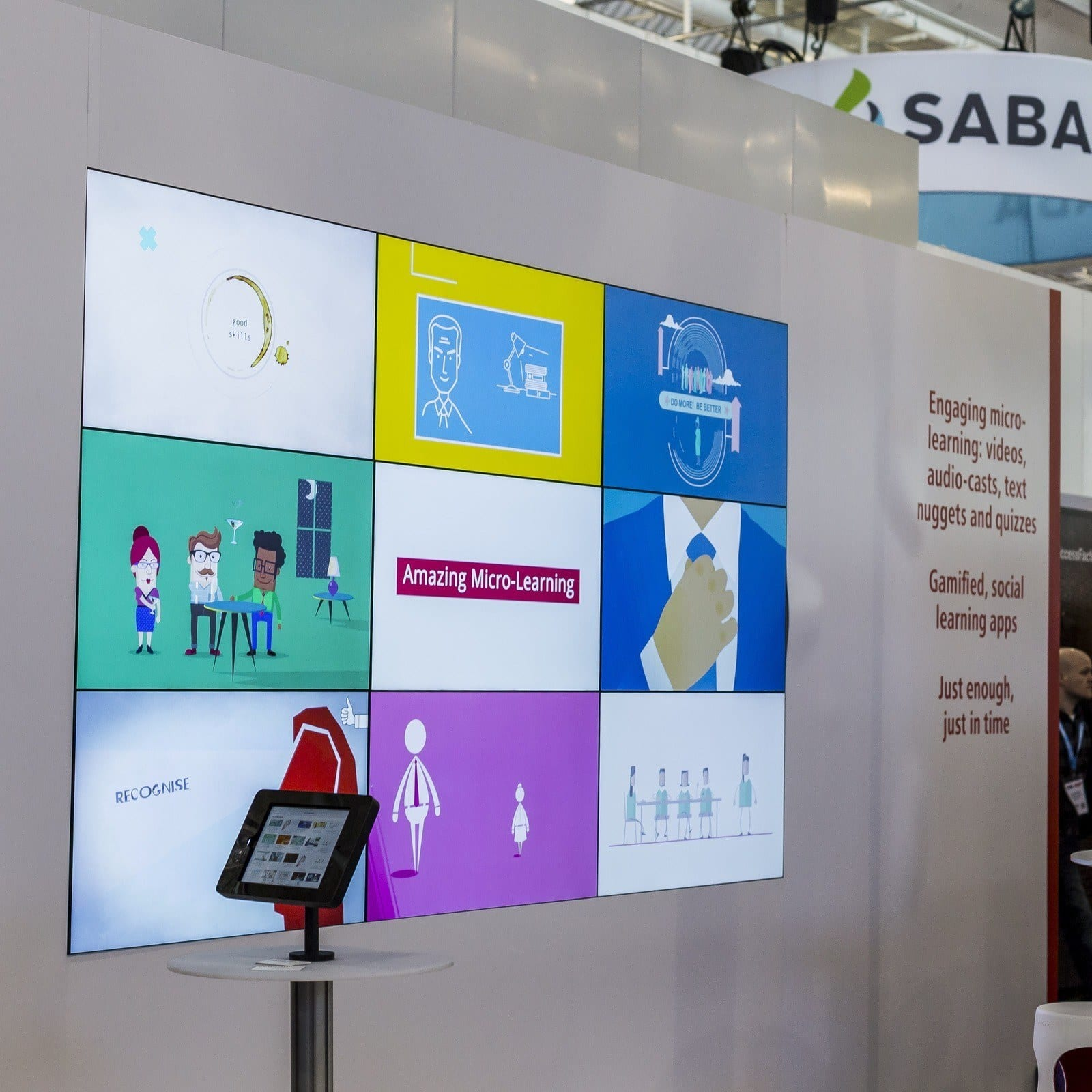 Video Wall Hire London Excel