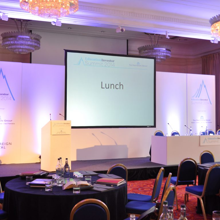 Education Investor Event Production - Conference