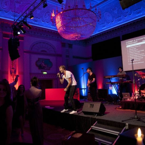 Sochi Fundraiser Event Production - Live music production