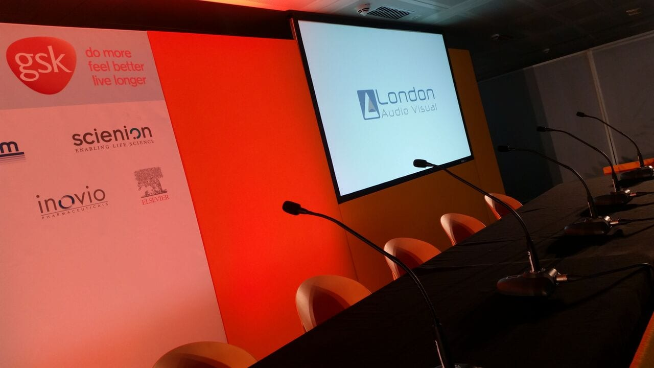 London Audio Visual - Event production for Conference