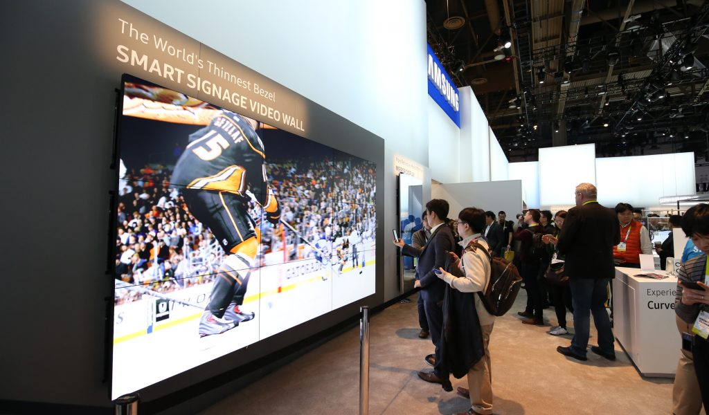 Video wall hire and rental