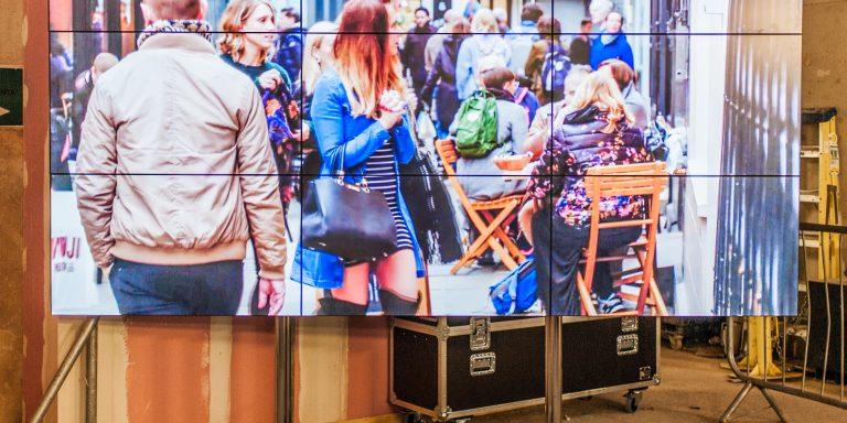 Large video wall London