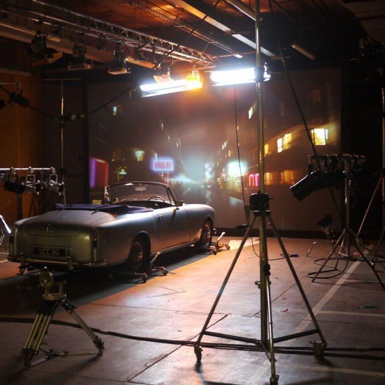 Film Shoot Projector