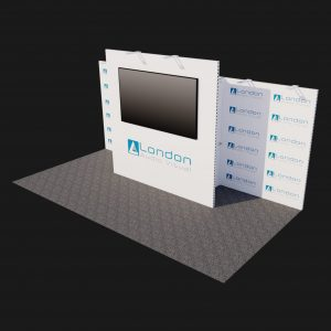 Cadiz - 6mx3m - 95inch Exhibition stand