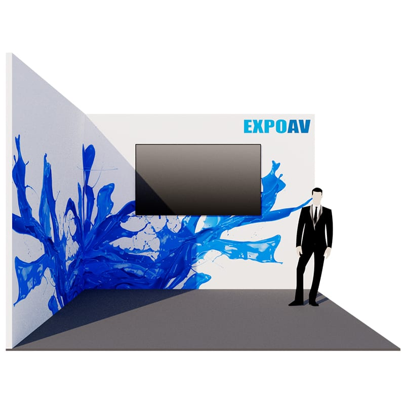Large screen hire for exhibition