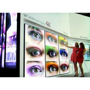 "LG 98"" Screen Hire"