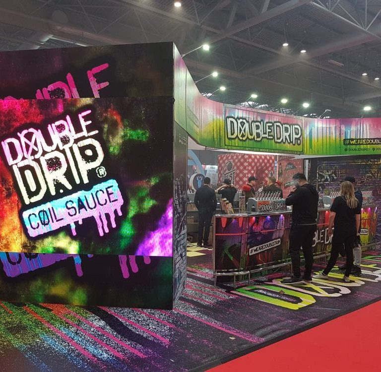 Double Dip stand for Core Exhibitions