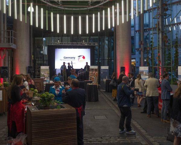 German tourist office borough market - LED Scree