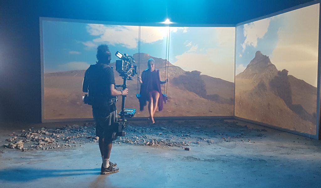 Projector photo shoot