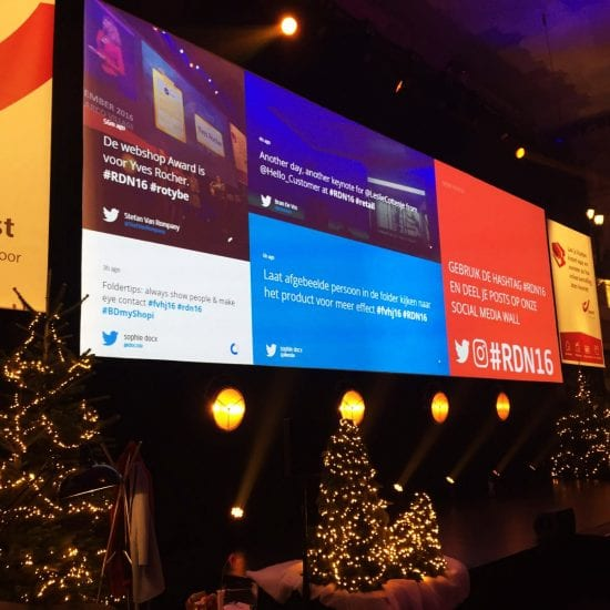 Twitter Wall Hire