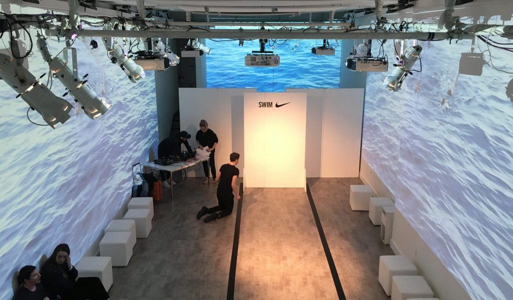 Projection - Swim for Nike
