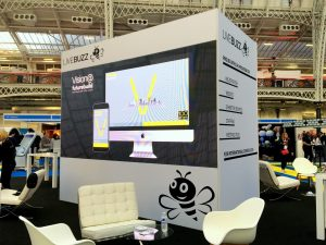 Large LED Video Wall for Exhibition Stand