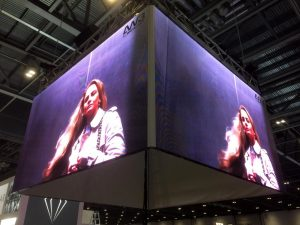 LED Wall Box London Excel