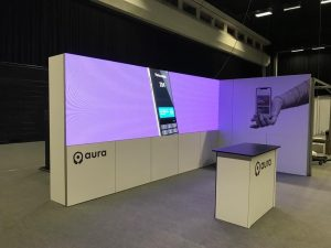 LED Wall for Aura App in Brighton