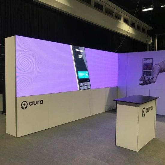 LED Wall for Aura App in Brighton