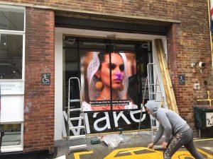 Wieden+Kennedy Agancy Window display