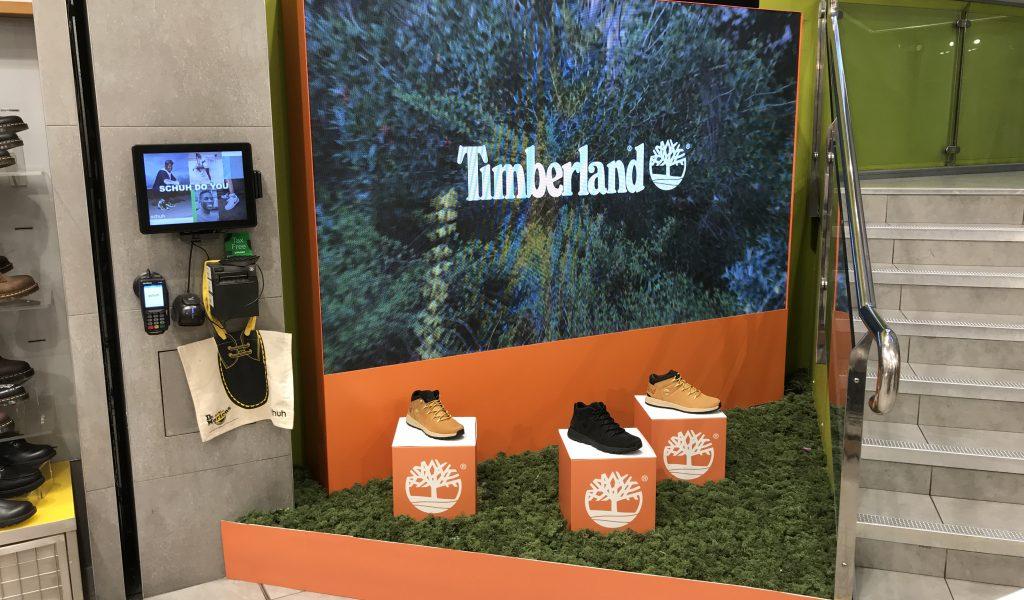 Timberland LED Wall Hire