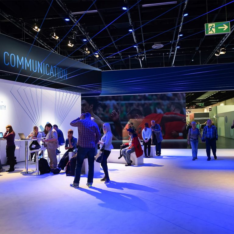 LED screens for exhibitions