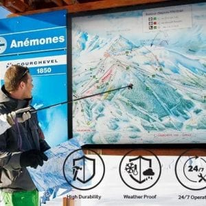 Outdoor Screen Hire Samsung